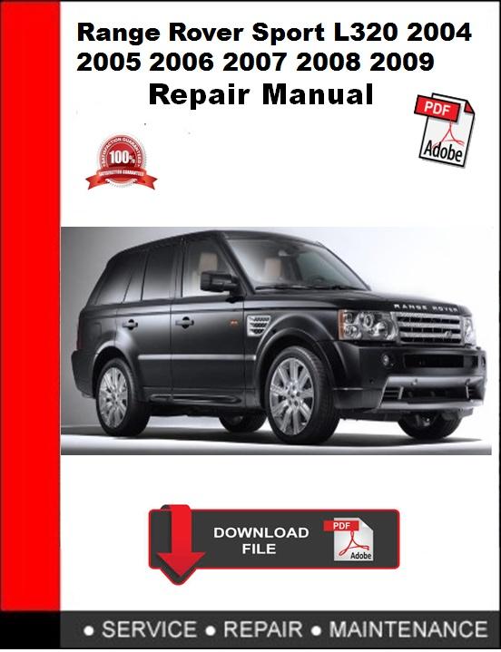 range rover l322 2012 repair manual autoservicerepair rh sellfy com 2008 range rover sport workshop manual 2008 range rover sport workshop manual