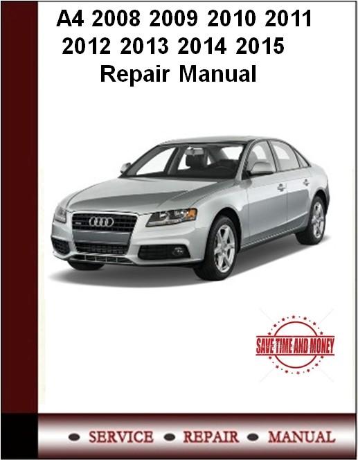 audi manual repair