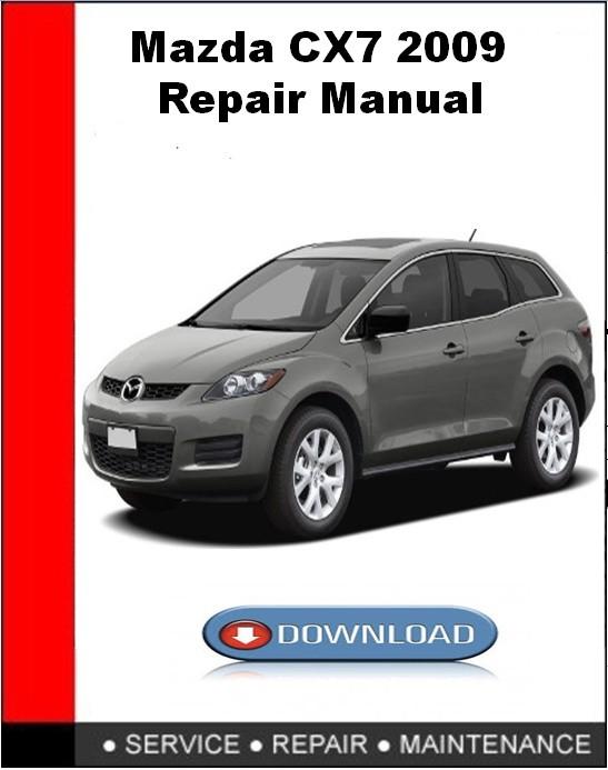 mazda cx 7 user manual download