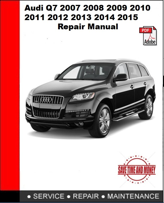 Audi q7 2007 repair manual youtube.