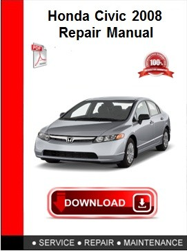 Honda Civic 2008 Repair Manual