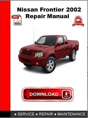 Nissan Frontier 2002 Repair Manual