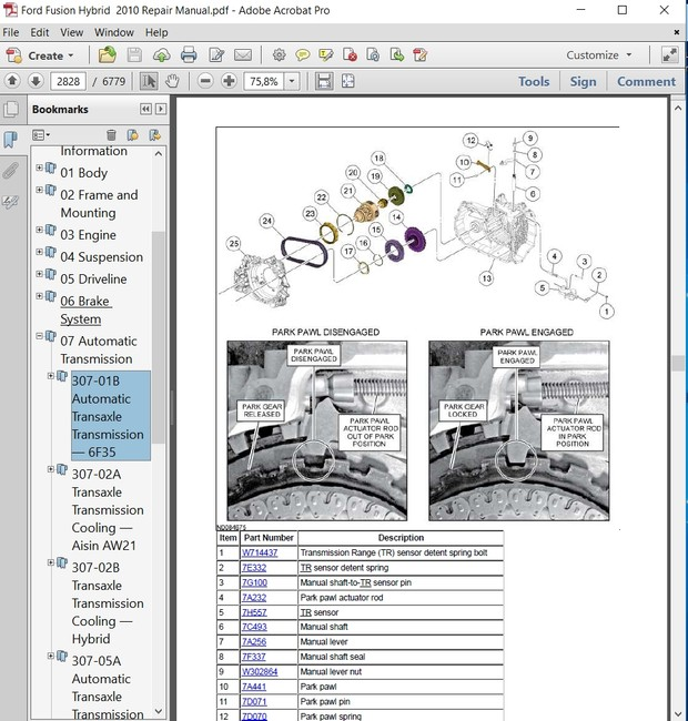Peachy Ford Fusion Hybrid 2010 Repair Manual Autoservicerepair Wiring Database Lukepterrageneticorg
