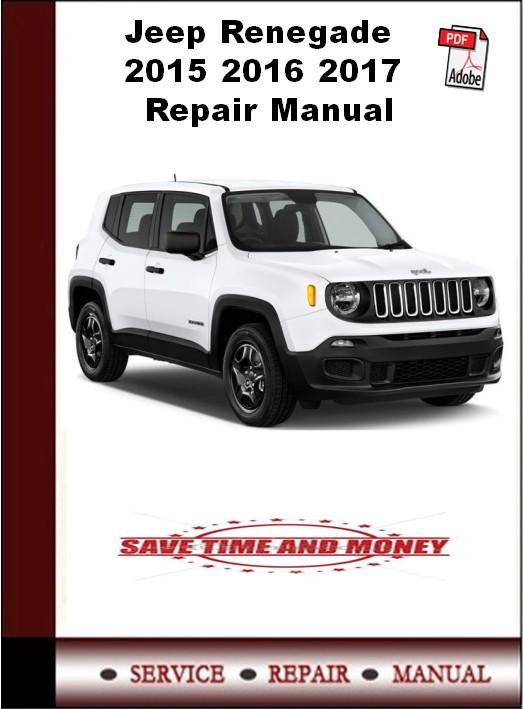 Jeep Renegade 2015 2016 2017 Repair Manual