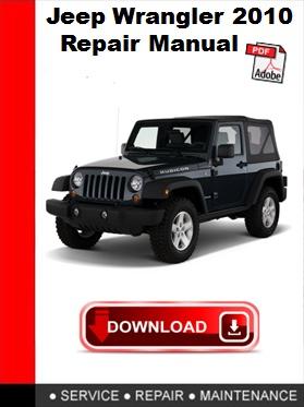 jeep wrangler 2010 repair manual autoservicerepair rh sellfy com 2015 jeep wrangler factory service manual 2007 jeep wrangler factory service manual pdf
