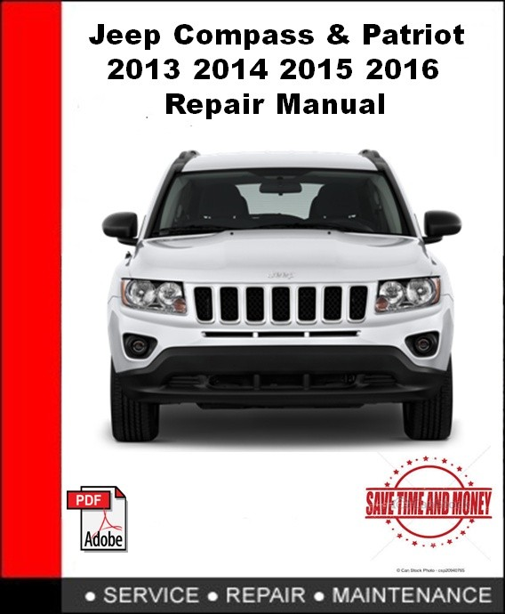Jeep Compass & Patriot 2013 2014 2015 2016 Repair Manual