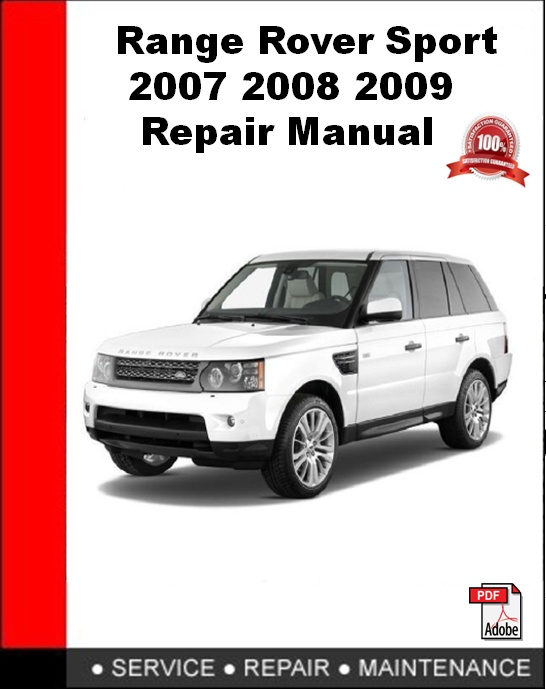 range rover sport 2007 2008 2009 repair manualan error occurred