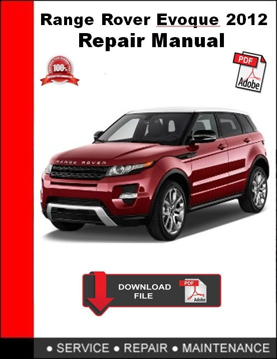 Range Rover Evoque 2012 Repair Manual