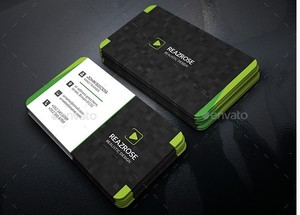 System Business Card PSD