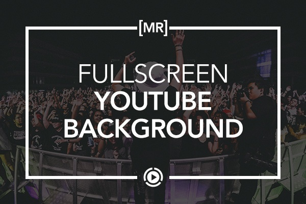 Fullscreen Video Background Widget - Joseph from Muse Resources