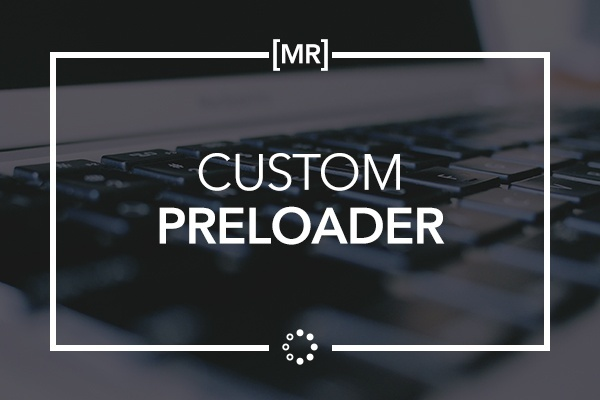 Custom Preloader - Joseph from Muse Resources