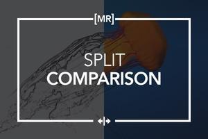 Interactive Split Comparison