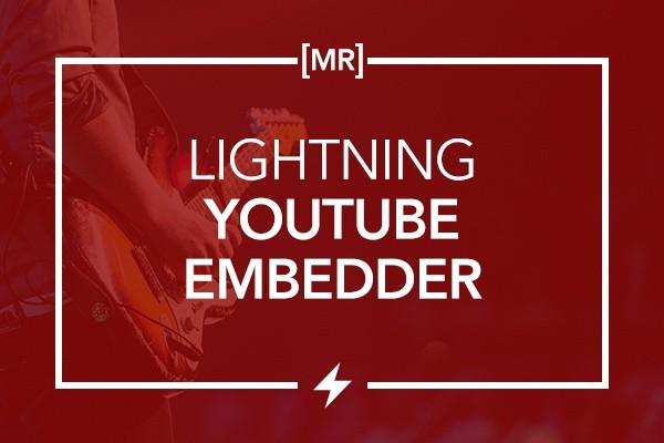 Lightning YouTube Embedder