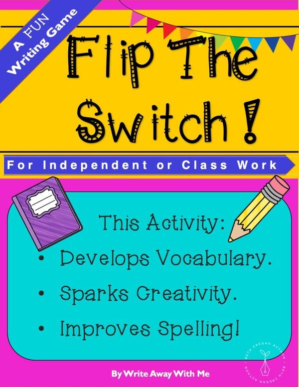 Flip The Switch - A Fun Writing Game