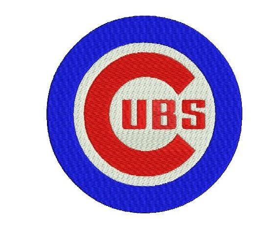 Chicago Cubs Logo Embroidery Design Kate Hadson