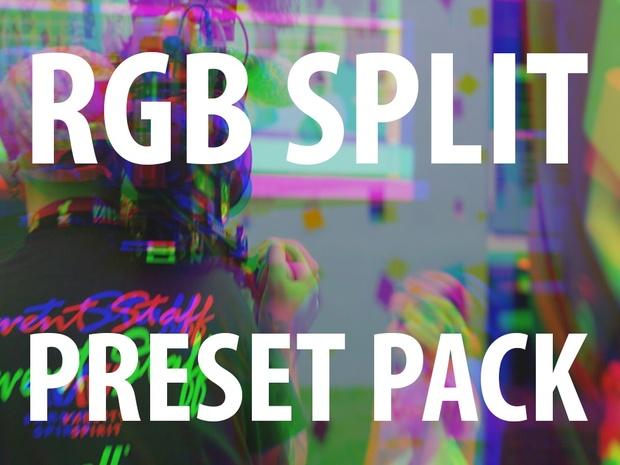 Premiere Pro Preset: RGB Split - Kyler Holland