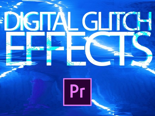 Premiere Pro Preset: Digital Glitch Effects