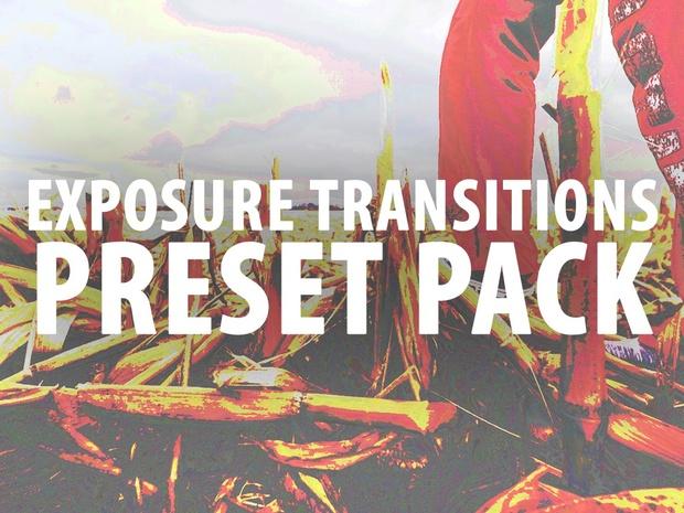 Premiere Pro Preset: Exposure Transitions