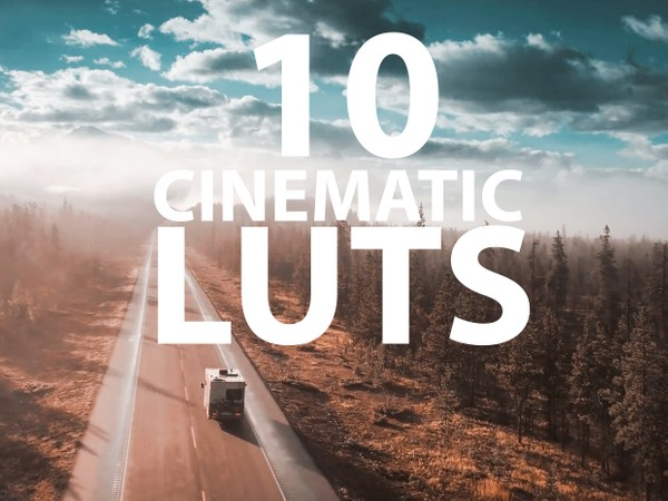 10 Cinematic LUTS!
