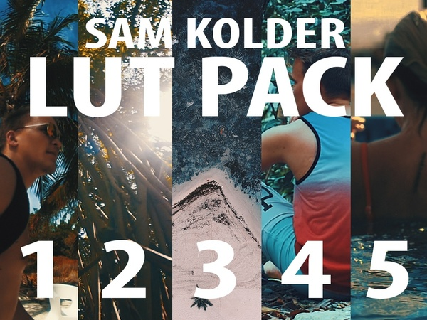 Sam Kolder LUT PACK