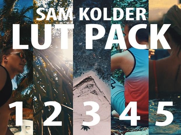 Sam Kolder LUT PACK