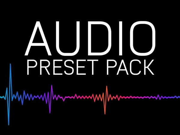 Premiere Pro Preset: Audio Effects