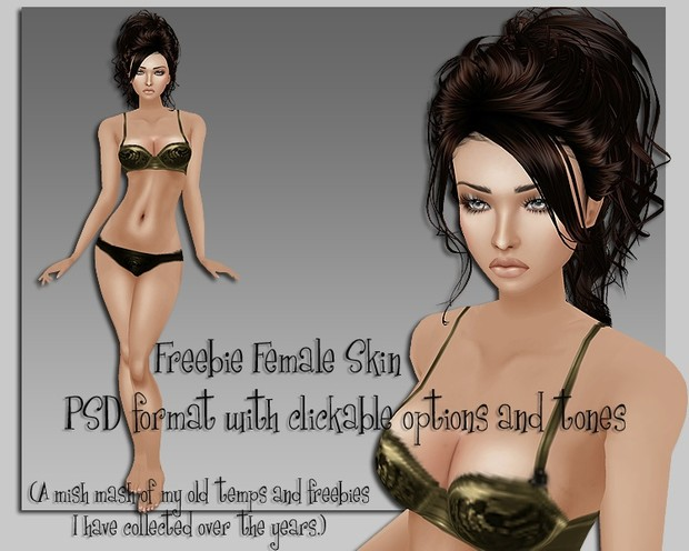 Ellohym - Freebie Starter Skin - PSD Form w/Options and Tones