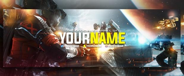 Infinite Warfare - Premade Twitter Header!