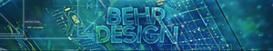 PSD - 3D BehrDesign's YouTube Banner (Fully Editable)
