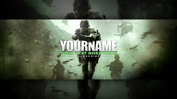 Modern Warfare Remastered - Premade Twitter Header!