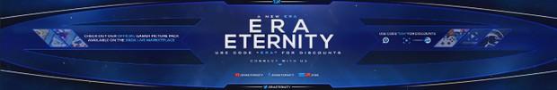 PSD - Era Eternity YouTube Banner (Editable)