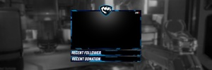 Professional Twitch/YouTube Webcam Overlay!