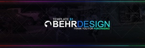 Full Spectrum Header Template (Editable/PSD)