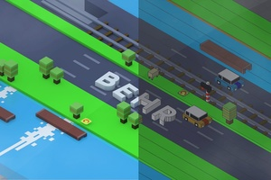 *Crossy Road* Project File! - Cinema 4D!