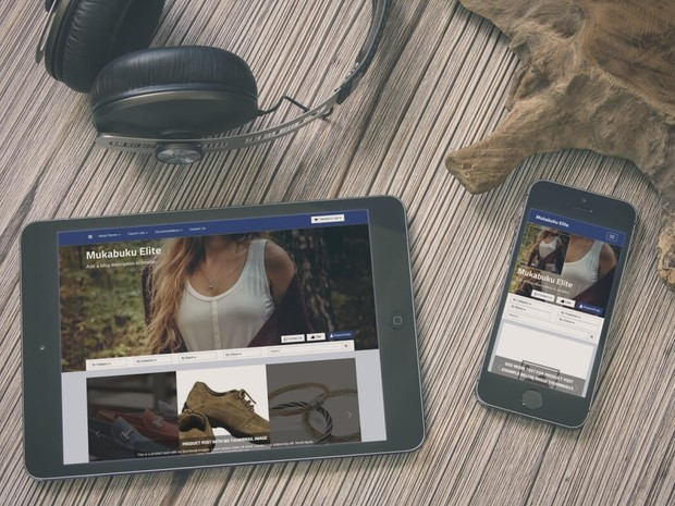 BlogrCart MUKABUKU ELITE (PRO v2.0) - Full Featured Pre-made Shopping Cart Blogger Template