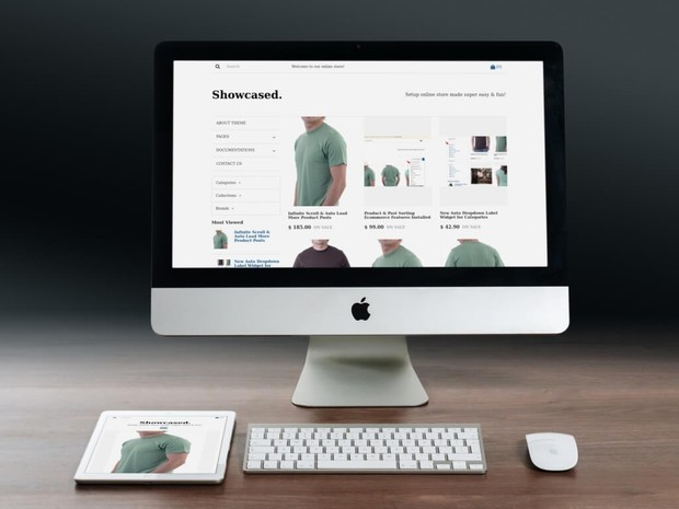 BlogrCart SHOWCASED. (Complimentary) Blogger Store Ecommerce Template Attribution Removed
