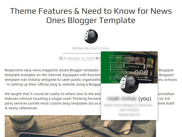 NEWS ONES (PRO) - Easy Magazine & News Styled Pre-made Blogger Blogspot Template (License Incl)