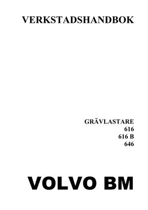 Volvo BM 616 616B 646 - verkstadshandbok - 402 sidor - pdf - svenska