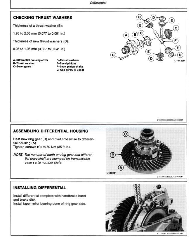 John Deere 2250 2450 2650 2650N 2850  technical manual  -  TM4440  -  english