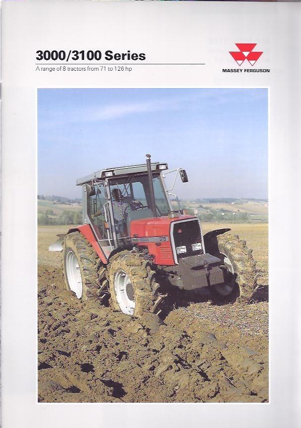 Massey Ferguson 3000 - 31000  -  service manual
