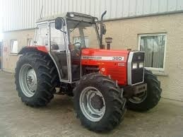 Massey Ferguson 362 365 375 383 390 390T 398  -  service manual  -  english
