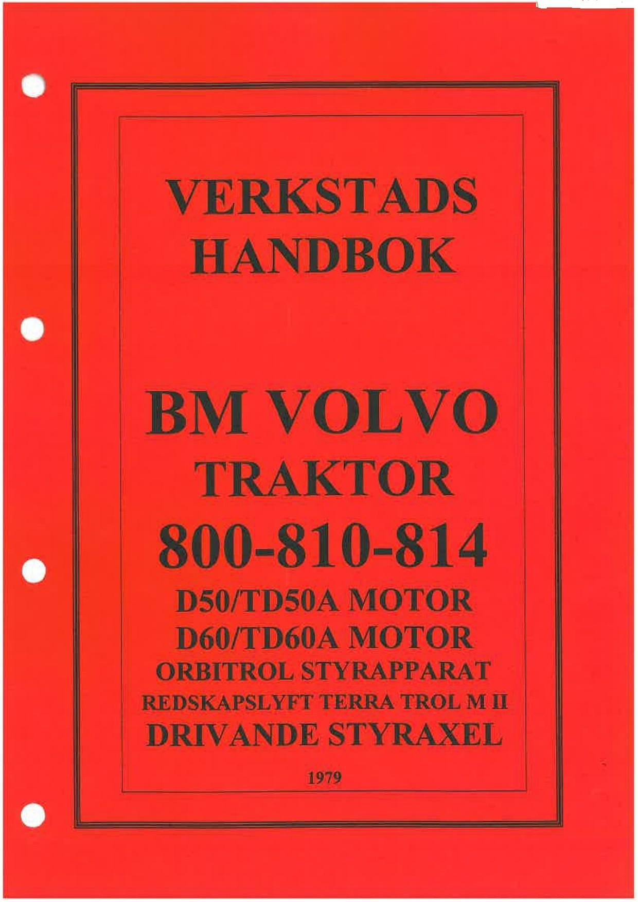 Volvo BM 800 810 814 verkstadshandbok