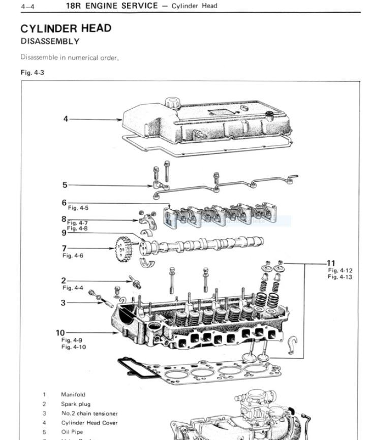 Toyota Celica 1970 - 1977  service manual  -  english