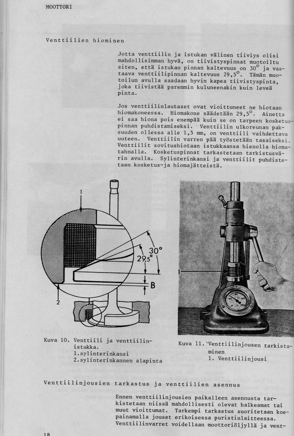 Valmet 702 korjaamokirja - suomenkielinen - 196 sivua