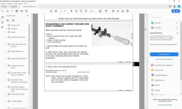 John Deere  3179 4239 6359 4276 6414 Engines - technical manual  - CTM4  -  english
