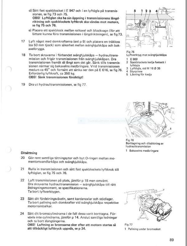 Volvo BM 4300  verkstadshandbok