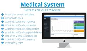 Sistema de citas médicas, desarrollado con PHP & MySQL