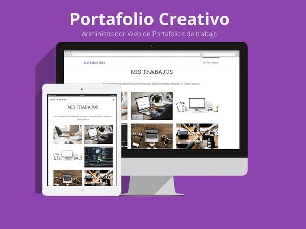 Portafolio Creativo con Bootstrap, PHP y MySQL