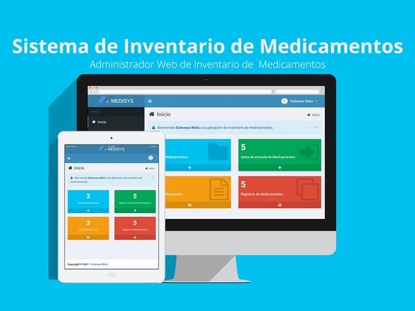 Sistema web de inventario de medicamentos con PHP y MySQL