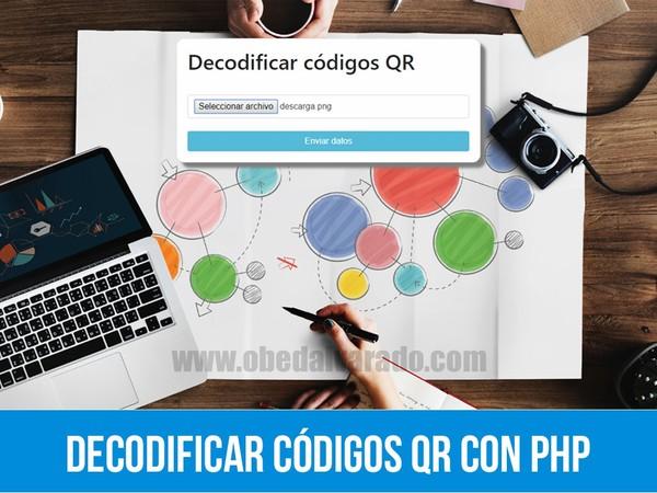 Decodificar códigos QR con PHP